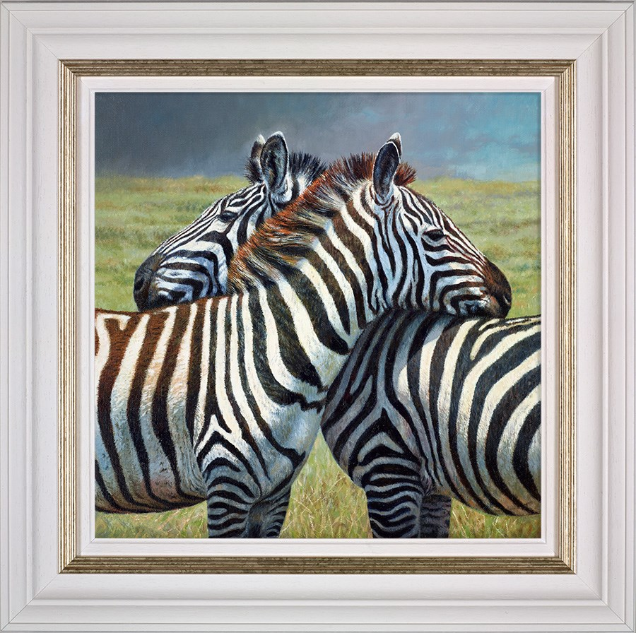 Nearest and Dearest by Tony Forrest - Canvas on Board sized 18x18 inches. Available from Whitewall Galleries